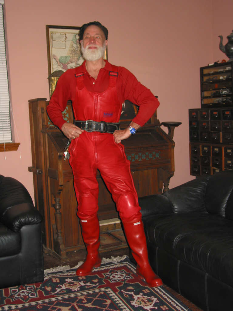 Red Rubber Bibs 2005